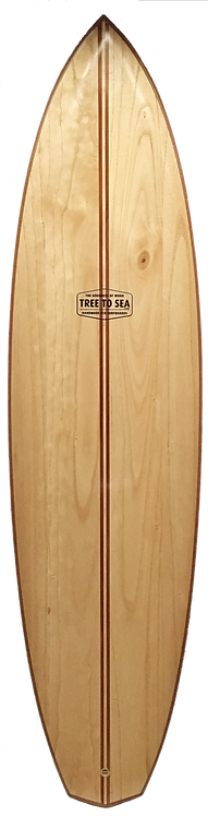 7' Samurai with Cork Rails and Cedar Tail Block