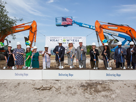 Meals on Wheels Tulsa Breaks Ground on New Facility