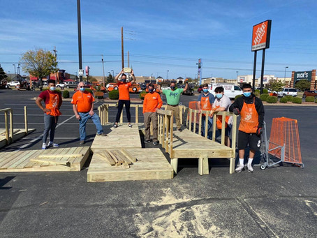 Tulsa Volunteers Build Wheelchair Ramps For Families In Need