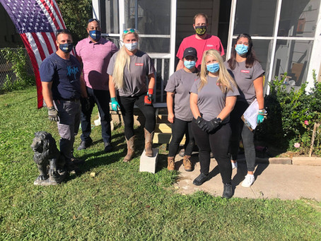 Hilti and Home Depot Build Accessibility Ramp for Local Senior