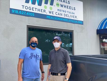 Tulsa Emergency Management Donates Masks
