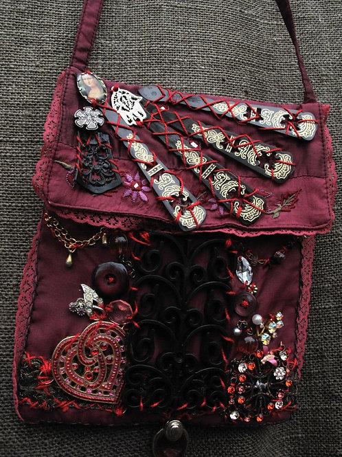 Art on a purse
