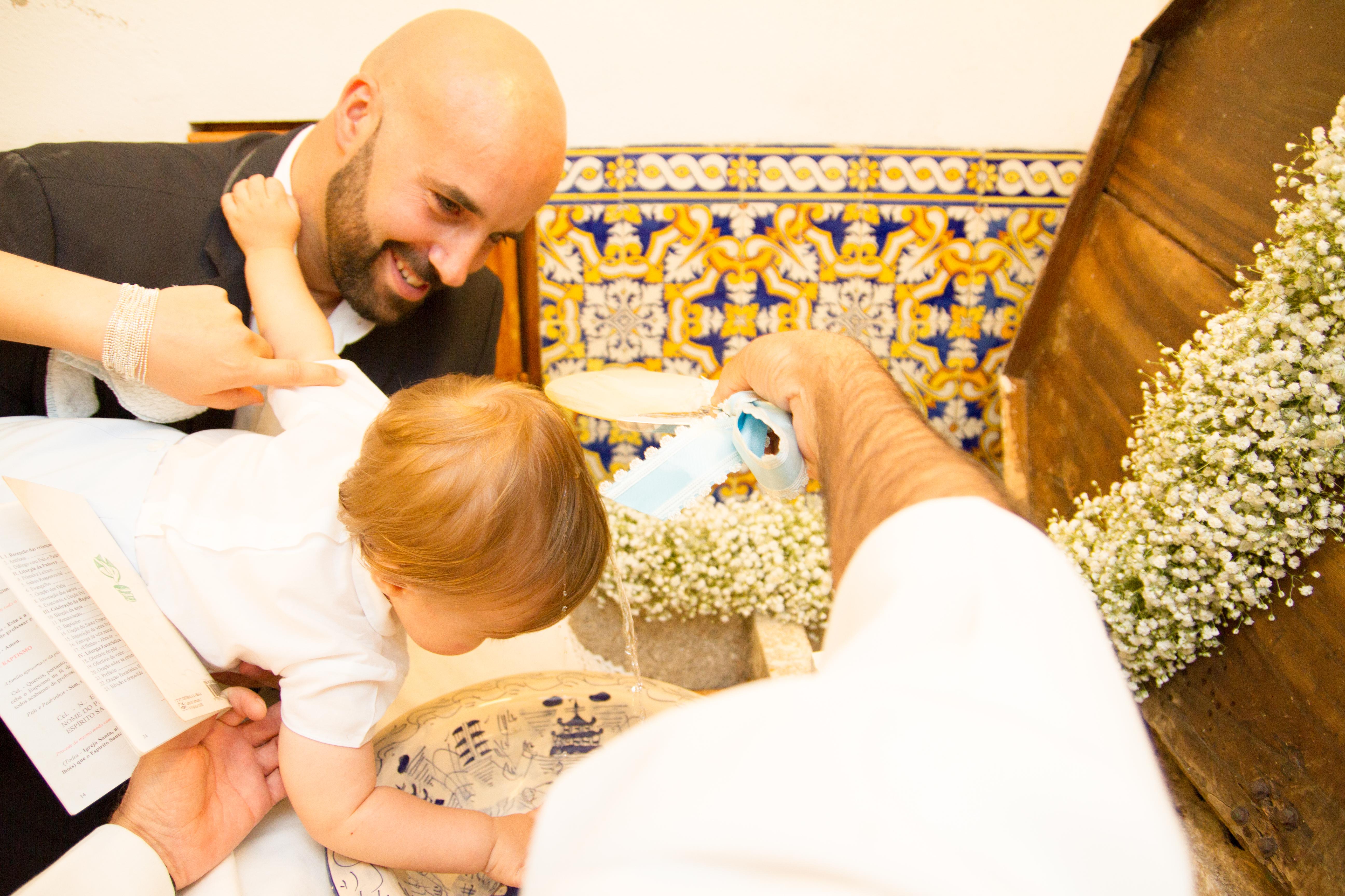reportagem de baptizado