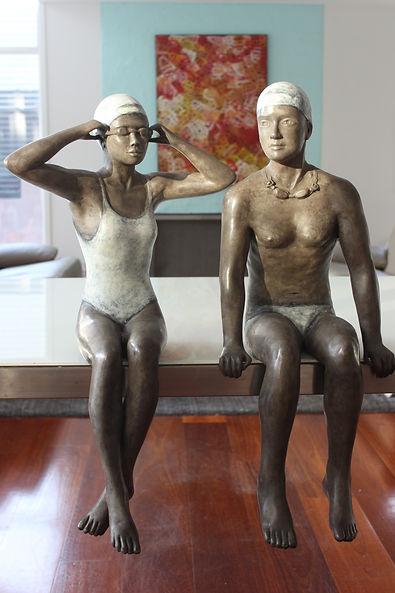 Mela Cooke _ He said, she said... bronze