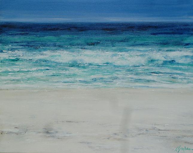 Jan Stapleton  -  Summer Blue Cronulla