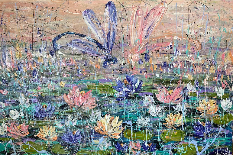 Velia Newman -Sunset Pond