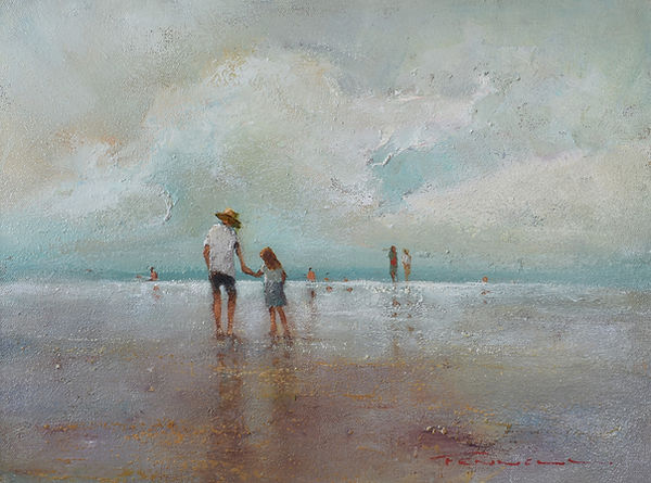 Peter Fennell - A walk in the Sand.jpg
