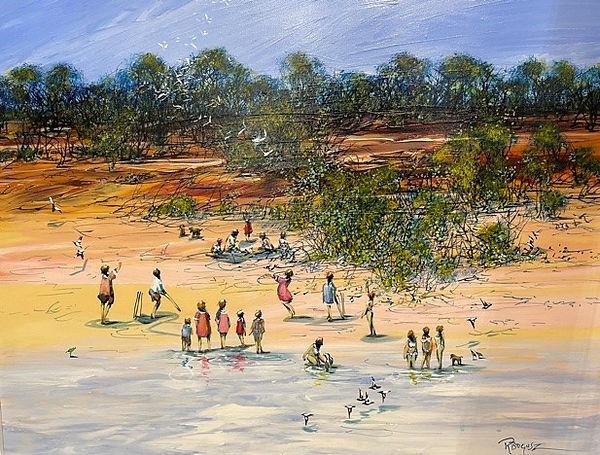 Richard Bogusz - Low Tide at Saunders .jpg