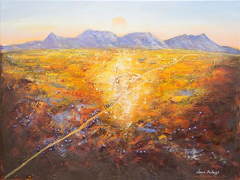 Louis Dalozzo - sunrise over the flinder