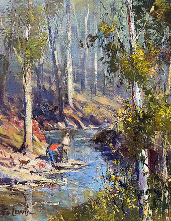 Ted Lewis - By the Creek .jpg