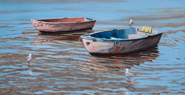 Freda Surgenor - Waiting for the tide.jpg