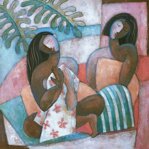 Wendy Wooden - BATHERS AT ATUONA