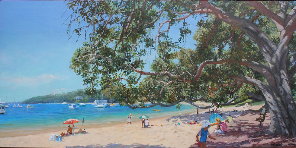 Robyn Gosbell - Sun and Shade, Balmoral