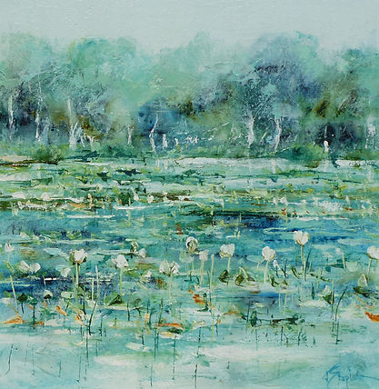 Jan Stapleton - Lilies at First Light