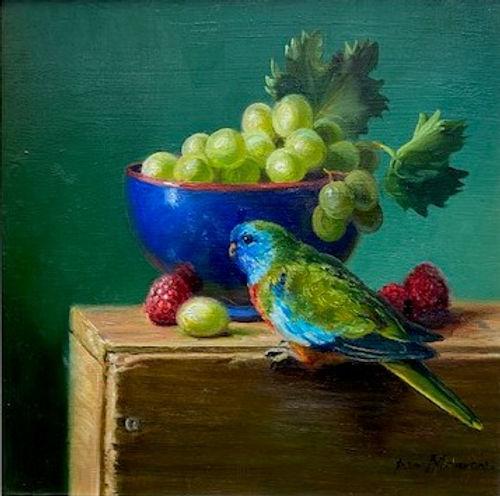 Ann Morton - Scarlet Crested Parrot.jpg
