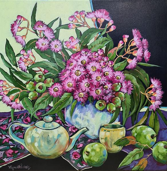Mignon_Parker_Gum_Blossoms_&_Teapot