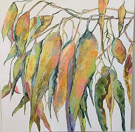 Sue Fyfe _ Textured Gum Leaves III