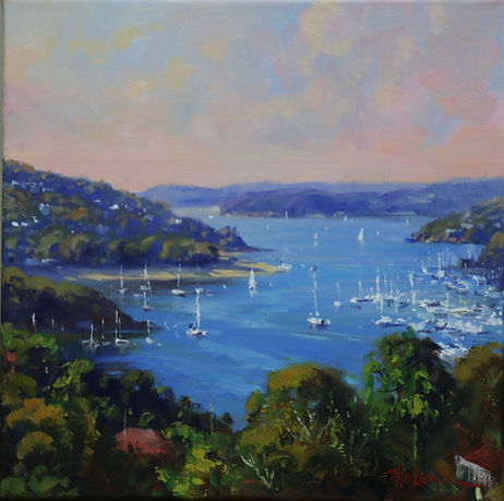 Ted Lewis _ looking over middle harbour