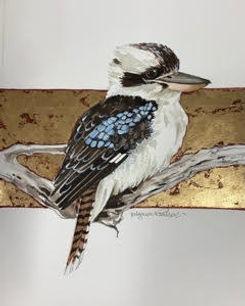 Mignon Parker - Kookaburra & Gold Leaf I
