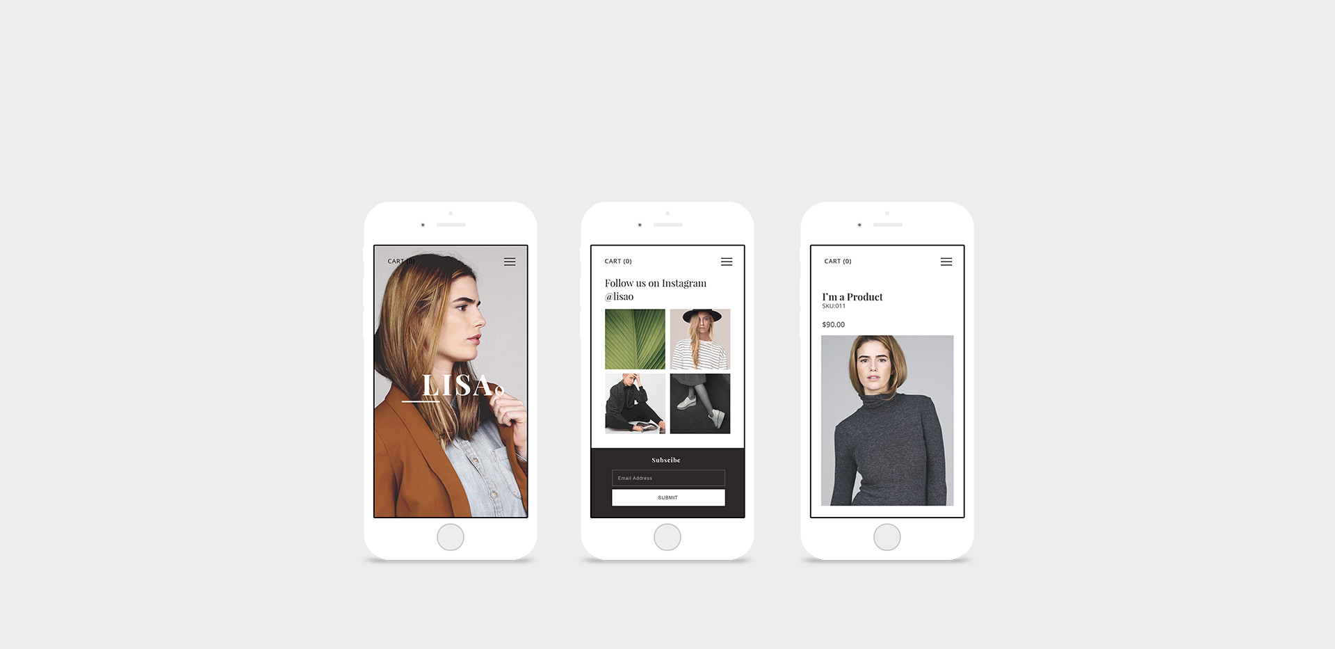 Designer de Site para Celular