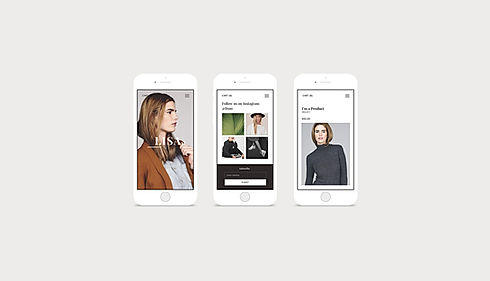 Mobile Website Design for retail