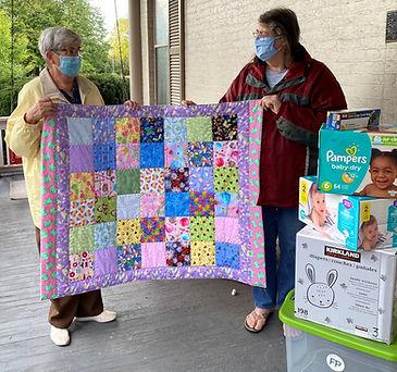 Blanket + United CHurch Donations 2 .jpe