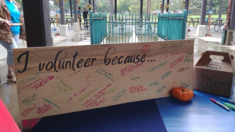 I volunteer because sign.jpg