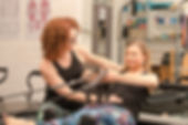Private pilates class with Helen New