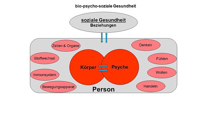 bio-psycho-soziale Gesundheit