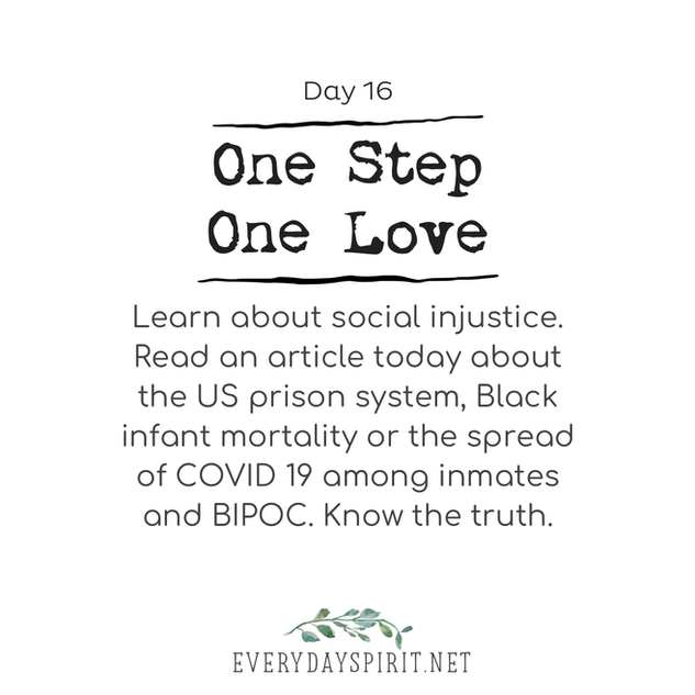 Every Day Spirit - One Step One Love Day 16