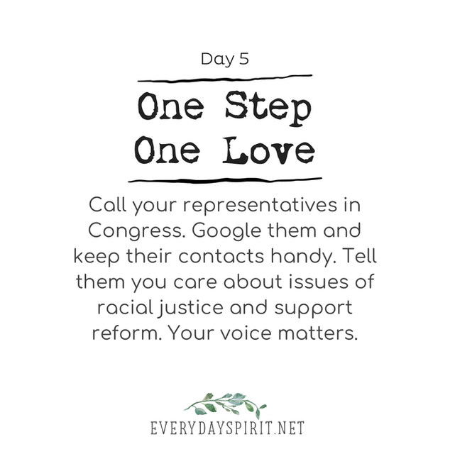 Every Day Spirit - One Step One Love Day 5