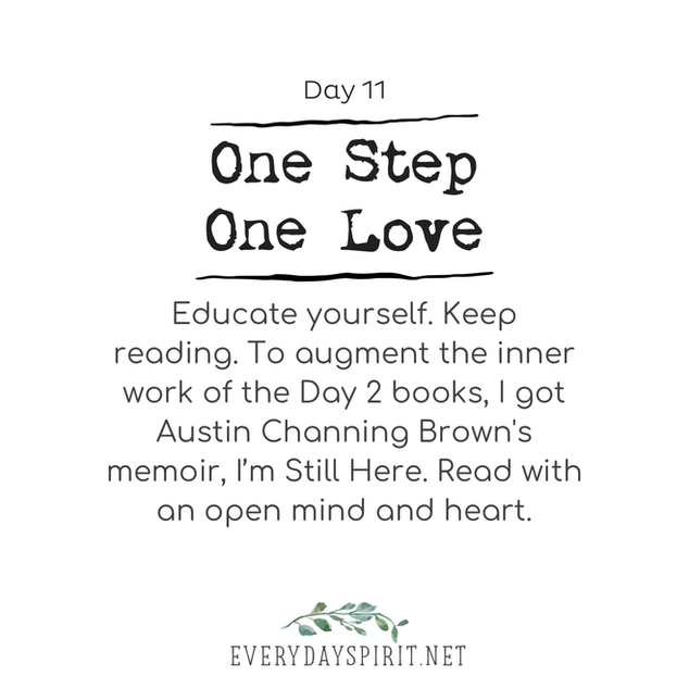 Every Day Spirit One Step One Love Day 11
