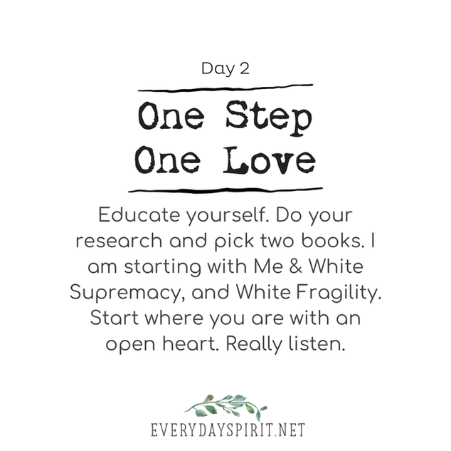 Every Day Spirit - One Step One Love Day 2