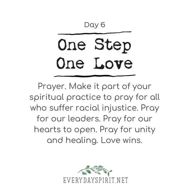 Every Day Spirit - One Step One Love Day 6