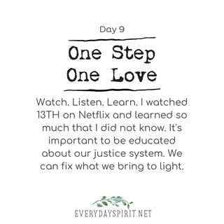 Every Day Spirit - One Step One Love Day 9