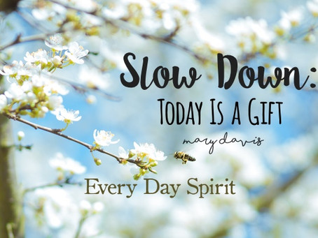 Slow Down: Today Is a Gift