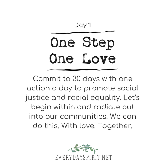 Every Day Spirit - One Step One Love Day 1