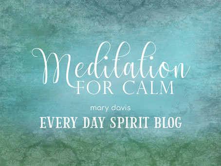 Meditation for Calm