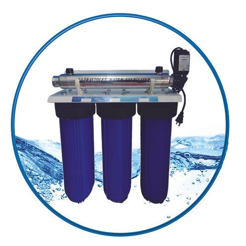 Sistema de Purificación de Agua SS3+UV BB20
