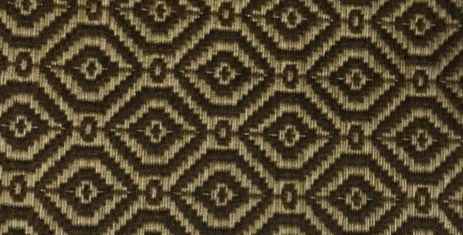 Brown + Tan Geometric