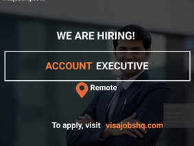 ACCOUNT  EXECUTIVE - $200,000/YEAR | REMOTE