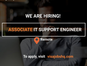ASSOCIATE IT SUPPORT ENGINEER | REMOTE