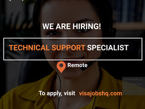 TECHNICAL SUPPORT SPECIALIST | REMOTE
