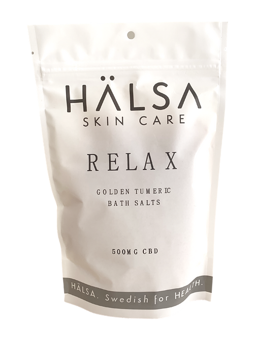 RELAX - CBD GOLDEN TUMERIC BATH SALTS