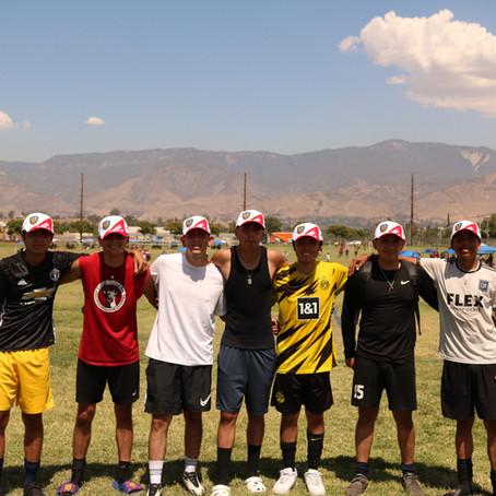 California NT on the field! San Bernardino tryouts held 8.29