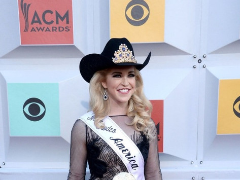 Katherine Merck attends the 51st annual Academy of Country Music Awards in Las Vegas