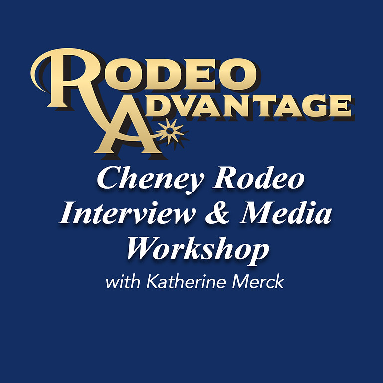 Cheney Rodeo Interview and Media Workshop with Katherine Merck