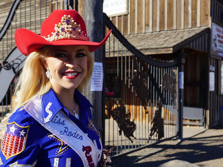 Miss Rodeo America makes a stop at the Ellensburg Rodeo
