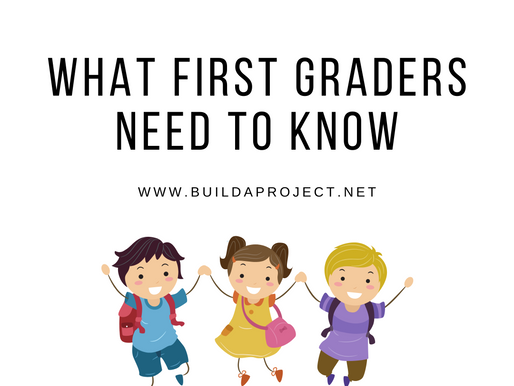 What First Graders Need To Know: Ages 6-8