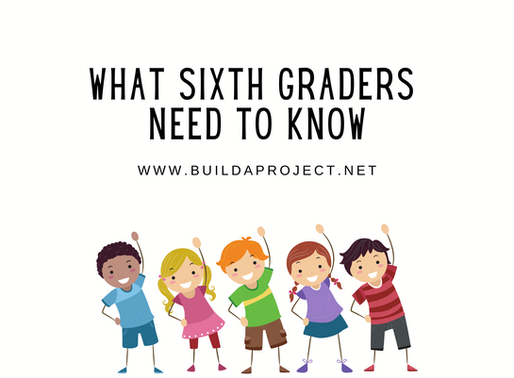 What 6th Graders Need to Know: Ages 11-13